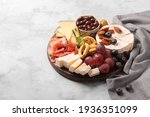 charcuterie board with spanish...   Shutterstock . vector #1936351099