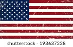 grunge flag country   usa | Shutterstock .eps vector #193637228