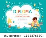 certificate kids diploma for...   Shutterstock .eps vector #1936376890