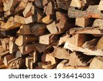 Firewood Cut And Stacked In The ...