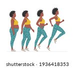 weight loss stages for an...   Shutterstock .eps vector #1936418353