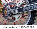 Honda Crf450r Cross Motorcycle. ...