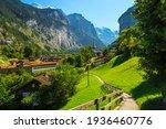 Beautiful Tourist Alpine...