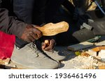 Carpenter Craftsman With Hands...