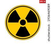 Radioactive Hazard Sign....
