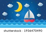 boat is sailing in the sea....   Shutterstock .eps vector #1936470490