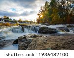 The Falls Of Dochart In The...