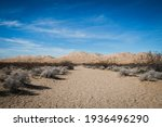 View Of The Kelso Sand Dunes In ...