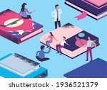 persons with isometric... | Shutterstock .eps vector #1936521379