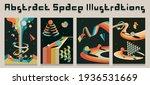 vector abstract space... | Shutterstock .eps vector #1936531669
