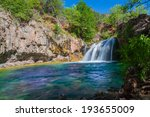Scenic Waterfall in Northern Arizona