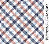 Vichy Pattern In Navy Blue ...