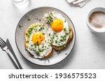 Avocado Egg Sandwiches And...