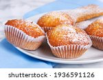 Closeup Of Mini Muffins With...