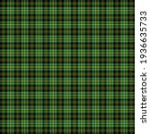st. patricks day tartan plaid....   Shutterstock .eps vector #1936635733