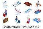 isometric air travel world... | Shutterstock .eps vector #1936655419
