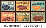 dried fruits farm dessert... | Shutterstock .eps vector #1936672546