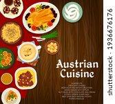 Austrian Cuisine Vector Almond...