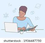 education  study  learning...   Shutterstock .eps vector #1936687750