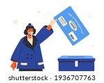 israeli legislative election...   Shutterstock .eps vector #1936707763