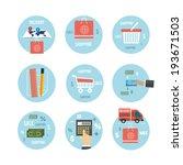 web design objects  business ...   Shutterstock . vector #193671503