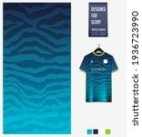 soccer jersey pattern design.... | Shutterstock .eps vector #1936723990
