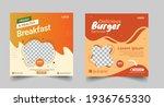 Delicious Burger Social Media...