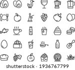 food line icon set   plate... | Shutterstock .eps vector #1936767799