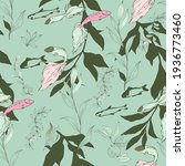 Fish In A Thicket Of Algae On A ...