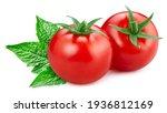 Tomato Isolated. Tomato On...