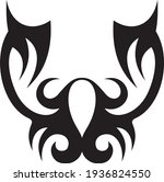 vector symbol  ornament  tattoo.... | Shutterstock .eps vector #1936824550