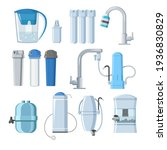 water filters and mineral... | Shutterstock .eps vector #1936830829