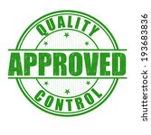 quality control approved grunge ...   Shutterstock .eps vector #193683836