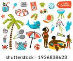 Summer Design Elements And A...