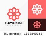 beauty line art flower... | Shutterstock .eps vector #1936840366