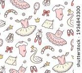 seamless pattern for little... | Shutterstock .eps vector #1936843300