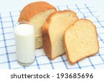 Bread And Milk On The Table...