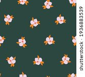 seamless vector pattern ditsy...   Shutterstock .eps vector #1936883539