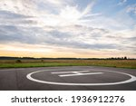 View Of The Private Helipad On...
