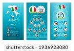 european 2020 football vertical ... | Shutterstock .eps vector #1936928080