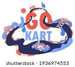 go kart concept illustration...   Shutterstock .eps vector #1936974553
