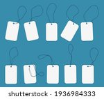 realistic price tags vector... | Shutterstock .eps vector #1936984333