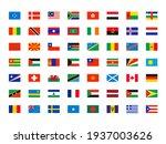 world flags. symbols of all... | Shutterstock . vector #1937003626