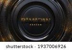 ramadan kareem. black paper...   Shutterstock .eps vector #1937006926