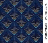 art deco seamless pattern... | Shutterstock .eps vector #1937010676