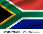 South Africa Waving Flag Vector ...