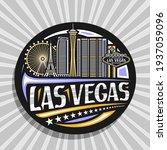 vector logo for las vegas ... | Shutterstock .eps vector #1937059096