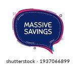 massive savings. special offer...   Shutterstock .eps vector #1937066899