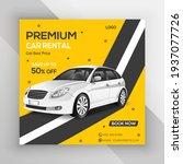 luxury car sale social media... | Shutterstock .eps vector #1937077726