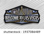 vector logo for las vegas ... | Shutterstock .eps vector #1937086489